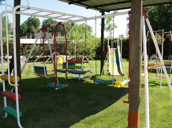 Juegos para niños en el parque